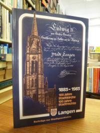 Langen – Beiträge zur Stadtgeschichte Band 2 – 1883 – 1983 – 100 Jahre Stadtkirc