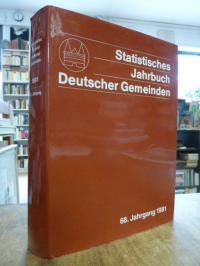 Deutscher Städtetag, Statistisches Jahrbuch deutscher Gemeinden, 68. Jahrgang 19