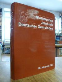 Deutschland / Deutscher Städtetag, Statistisches Jahrbuch deutscher Gemeinden, 6