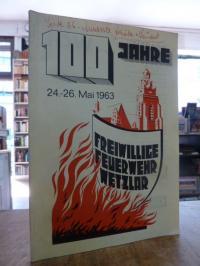 Wetzlar / Flender, 100 Jahre Freiwillige Feuerwehr Wetzlar,