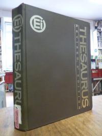 Inc, Ei [= Engineering Information] Thesaurus,
