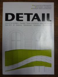 Schittich, DETAIL – Zeitschrift für Architektur + Baudetail, Serie 2013, [Heft]
