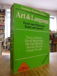 Maenz, Art & Language – Texte zum Phänomen Kunst und Sprache [Terry Atkinson Dav