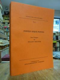 Fontes atque pontes – Eine Festgabe für Hellmut Brunner,
