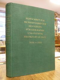 Hartke, Festschrift zur Hundertjahrfeier des Vereins für Geographie und Statisti