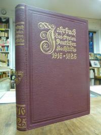 Freies Deutsches Hochstift, Jahrbuch des Freien Deutschen Hochstifts 1916-1925,