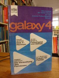 Ernsting Walter (Hrsg.), Galaxy 4 – Eine Auswahl der besten Stories aus dem amer