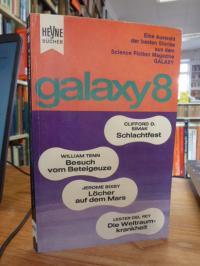 Ernsting Walter (Hrsg.), Galaxy 8 – Eine Auswahl der besten Stories aus dem amer