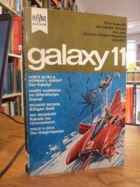 Ernsting Walter (Hrsg.), Galaxy 11 – Eine Auswahl der besten Stories aus dem ame
