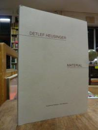 Heusinger, Detlef Heusinger : Material zum Werk von 1978 bis 1998,