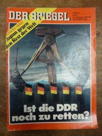 Augstein, DER SPIEGEL, Heft Nr. 45, 6. November 1989: Ist die DDR noch zu retten