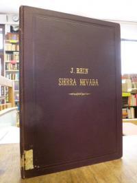 Rein, Beiträge zur Kenntnis der Spanischen Sierra Nevada,
