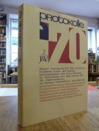 Protokolle '70, [Band] 2 – Wiener Jahresschrift für Literatur, bildende Kunst un