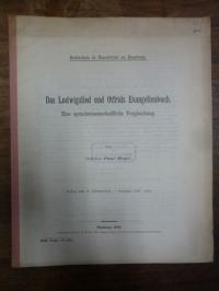 Meyer, Das Ludwigslied und Otfrids Evangelienbuch – Eine sprachwissenschaftliche