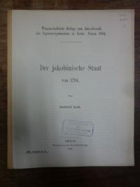 Ferber, Der jakobinische Staat von 1794,