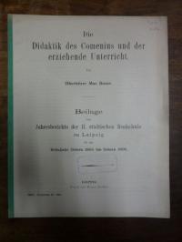 Comenius, Die Didaktik des Comenius und der erziehende Unterricht,