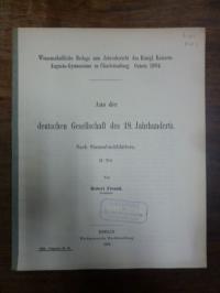 Freund, Aus der deutschen Gesellschaft des 18. Jahrhunderts – Nach Stammbuchblät