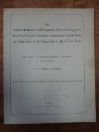 Gutjahr, Zur neuhochdeutschen Schriftsprache Eykes von Repgowe, des Schöffen bei