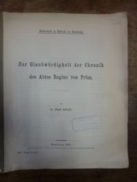 Kupka, Zur Glaubwürdigkeit der Chronik des Abtes Regino von Prüm,