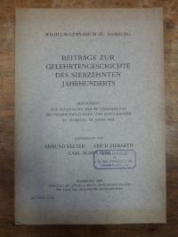 Kelter, Beiträge zur Gelehrtengeschichte des siebzehnten (17.) Jahrhunderts – Fe