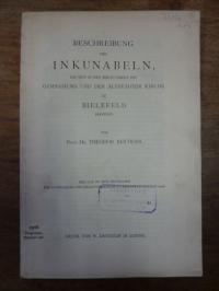 Bertram, Beschreibung der Inkunabeln, die sich in den Bibliotheken des Gymnasium