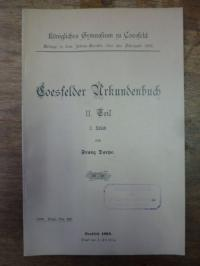 Coesfeld / Darpe, Coesfelder Urkundenbuch, II. Teil, 2.Stück,