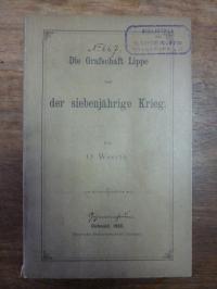 Weerth, Die Grafschaft Lippe und der Siebenjährige Krieg,