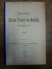 von Raumer, Studien zu Salvian, Priester von Massilia,