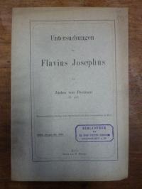 Haemmerle, Untersuchungen zu Flavius Josephus,
