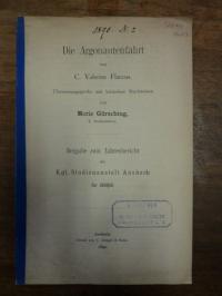 Gürsching, Die Argonautenfahrt von C. Valerius Flaccus – Übersetzungsprobe mit k