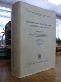Leo Baeck Institute New York, Bibliothek und Archiv – Katalog, Band 1: Deutschsp