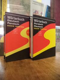 Panbetschi, Deutsch-Persisches Taschen-Wörterbuch (auf Buchrücken: 'Wörterbuch D