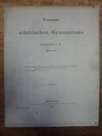 Schütz, Die gegenwärtige Bedeutung des mathematisch-physikalischen Unterrichts a