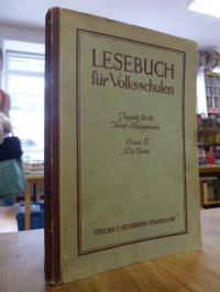"""Lesebuch für Volksschulen, Band IV (7. u. 8. Schuljahr): """"Die Ernte"""","""