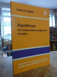 Späth, Algorithmen für multivariable Ausgleichsmodelle,