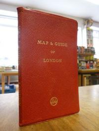 Stadtplan London, Chichester's picture map of London (auf Vorderdeckel: 'Map & G