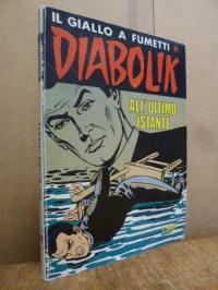 Giussani, Il giallo a fumetti DIABOLIK, No.183: All'ultimo istante,