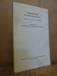 Einführung in die Indologie – Stand, Methoden, Aufgaben,
