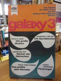 Ernsting Walter (Hrsg.), Galaxy 3 – Eine Auswahl der besten Stories aus dem amer