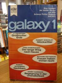 Ernsting Walter (Hrsg.), Galaxy 1 – Eine Auswahl der besten Stories aus dem amer