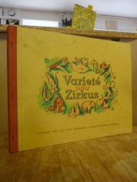 Sammelbilderalbum / Haus Bergmann-Zigarettenfabrik, Variete und Zirkus – Ausgabe