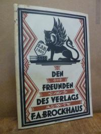F. A. Brockhaus Den Freunden des Verlags F. A. Brockhaus, Fünfte (5.) Folge: 192