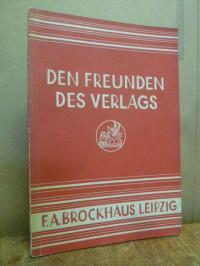 F. A. Brockhaus, Den Freunden des Verlags F. A. Brockhaus, Siebzehnte (17.) Folg