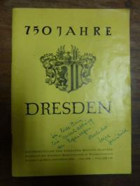 Dresdner Heimatfreunde in Westdeutschland (Hrsg.), 750 Jahre Dresden 1206 – 1956