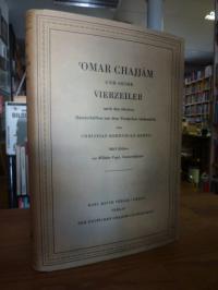 Omar Chajjam / Christian Herrnhold Rempis, Omar Chajjam und seine Vierzeiler – N