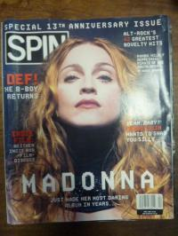 SPIN – Special 13th Anniversary Issue (Cover: Madonna),