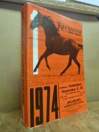 Keeneland Association, Keeneland Fall Yearling Sale 1974 – Catalogue for First T