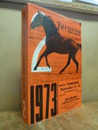 Keeneland Association, Keeneland Fall Yearling Sale 1973 – Catalogue for Second