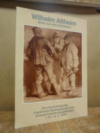 Altheim, Wilhelm Altheim – Bilder aus dem Volksleben – Ein Beitrag zur Frankfurt