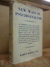 Karen Horney, New Ways in Psychoanalysis,